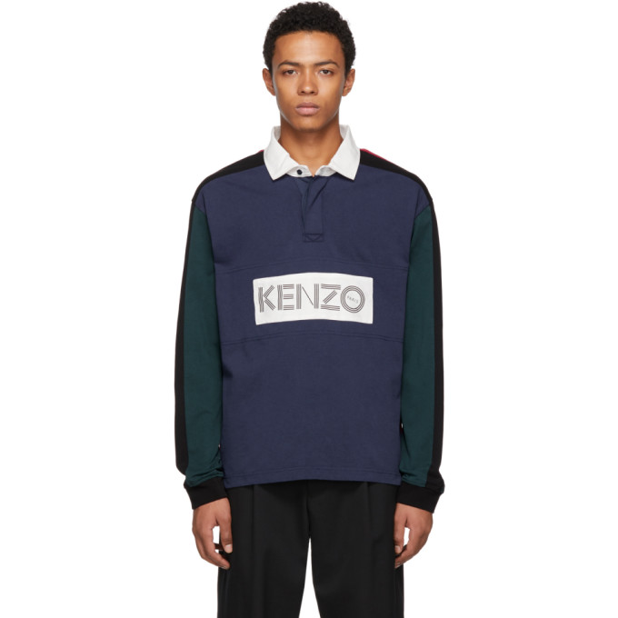 Kenzo Polo multicolore Rugby
