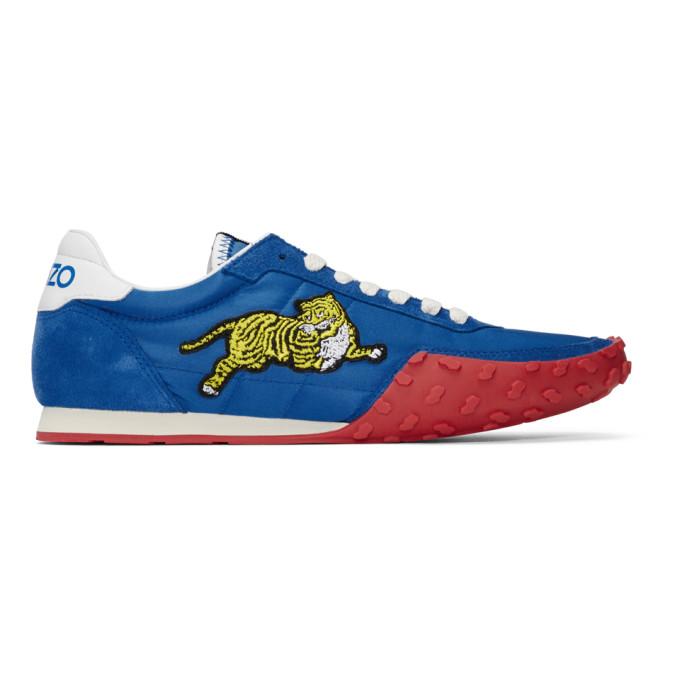 Kenzo Blue Kenzo Move Sneakers