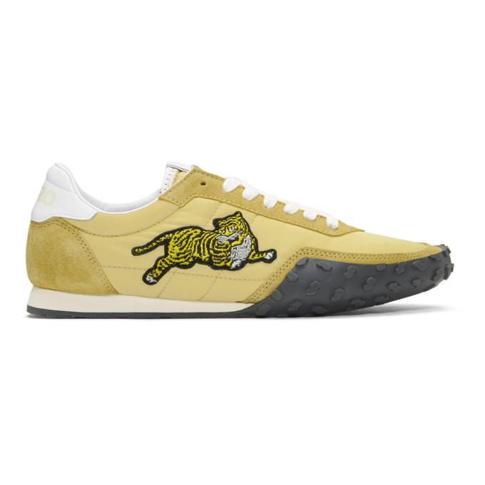 Kenzo Yellow Move Sneakers