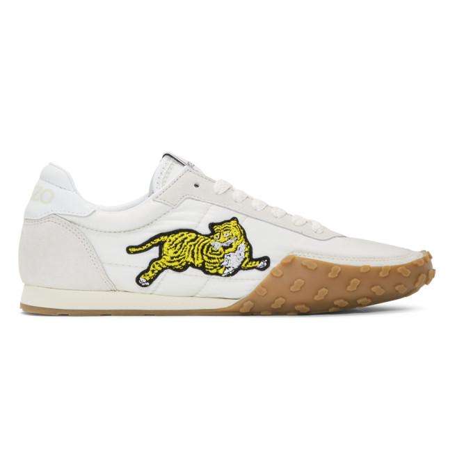 Kenzo Grey 'Kenzo Move' Sneakers
