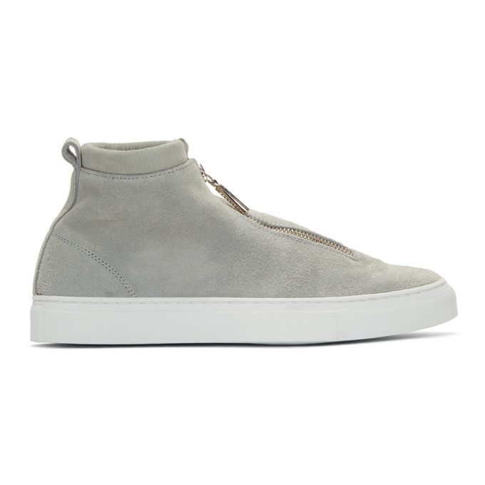 DIEMME Diemme Grey Suede Fontesi Sneakers in Ltgrey