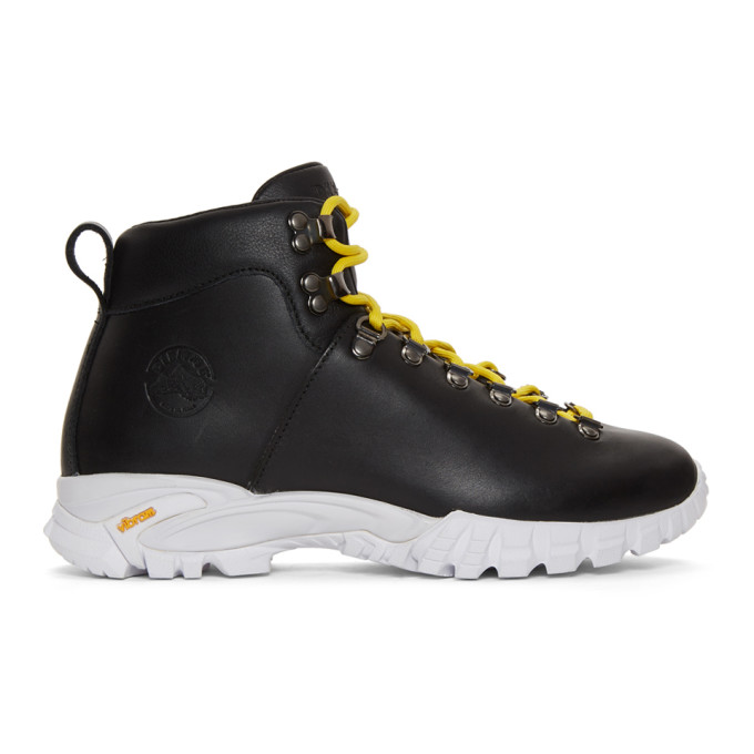 DIEMME Diemme - Maser Leather Hiking Boots - Mens - Black