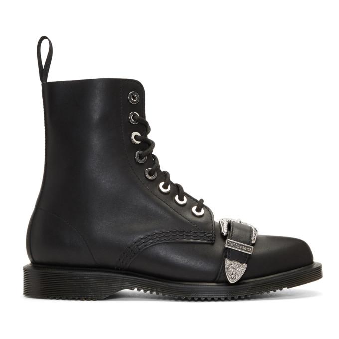 Dr. Martens Black Ulima Boots