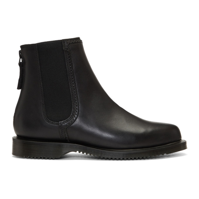 Dr. Martens Black Zillow Zip Chelsea Boots