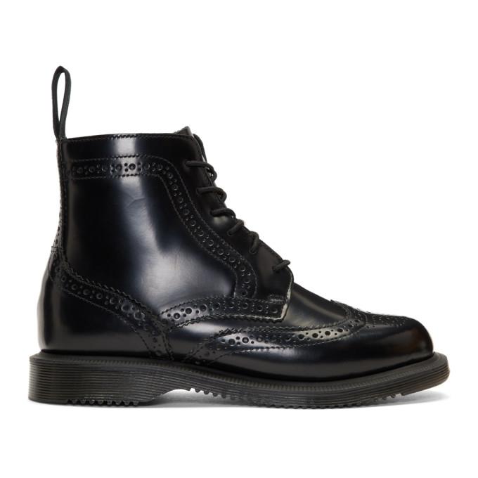 Dr. Martens Black Delphine Boots