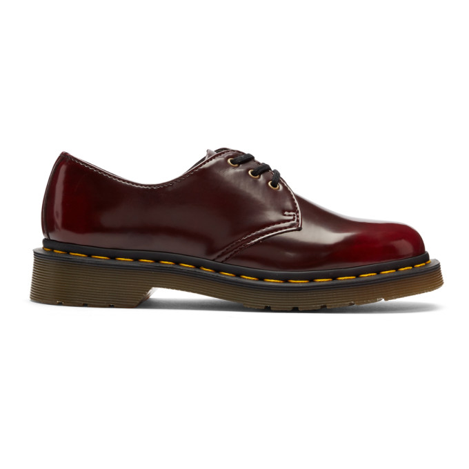 Dr. Martens Red Vegan 1461 Derbys
