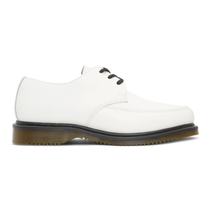 Dr. Martens White Willis Creeper Derbys