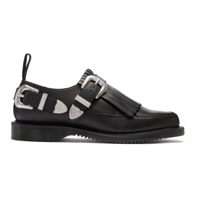 Dr. Martens Black Delylah Loafers