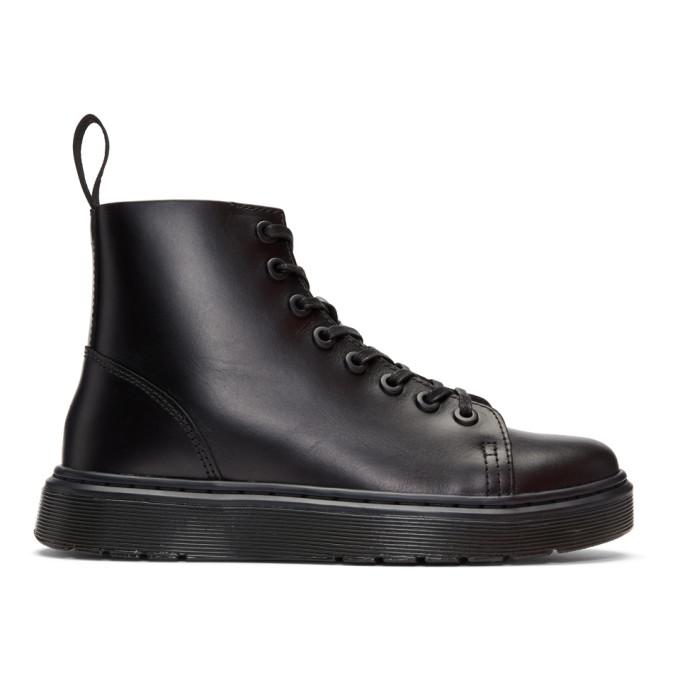 Dr. Martens Black Talib High-Top Sneakers