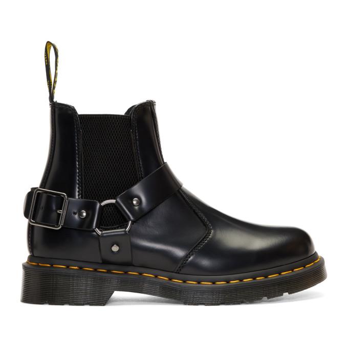 Dr. Martens Black Wilcox Chelsea Boots