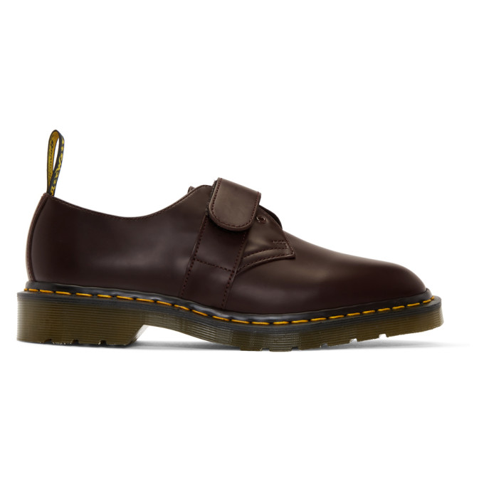 Dr. Martens Burgundy Engineered Garments Edition 1461 Smith Derbys