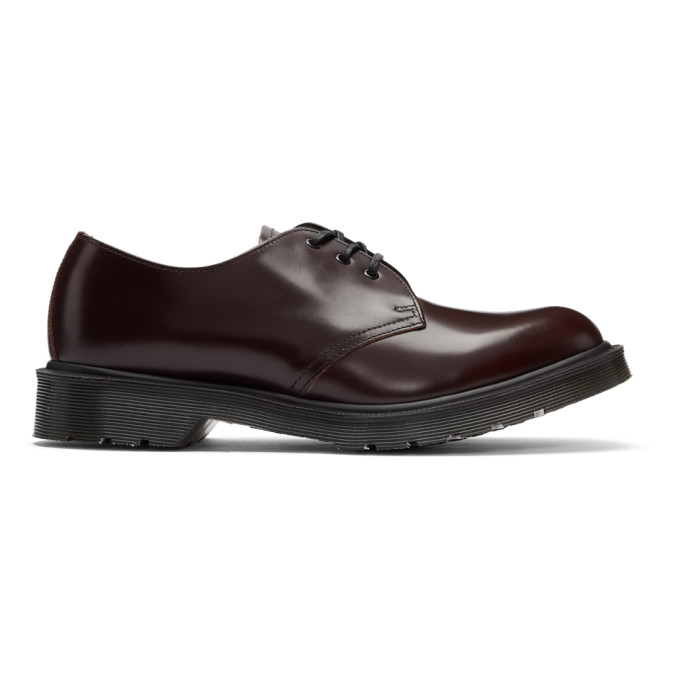 Dr. Martens Burgundy 1461 Classic 'Made in England' Derbys