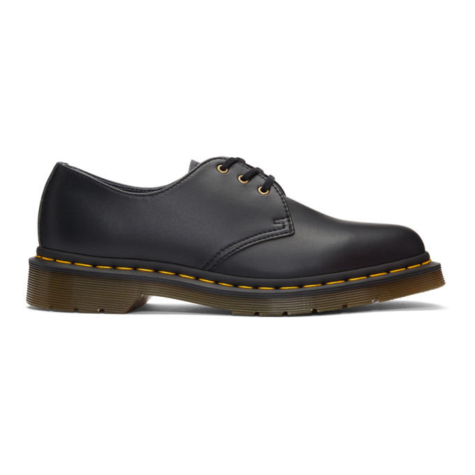 Dr. Martens Black Vegan 1461 Derbys