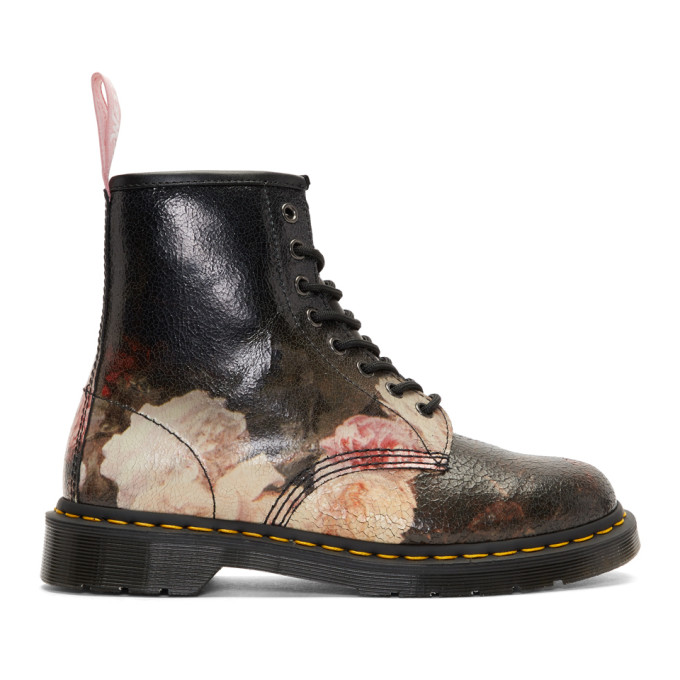 Dr. Martens Multicolor New Order 'Power, Corruption & Lies' 1460 Boots