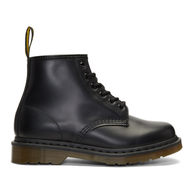 Dr. Martens Black 101 Lace-Up Boots