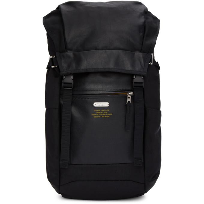 MASTER-PIECE CO Master-Piece Co Black Spec Rucksack Backpack