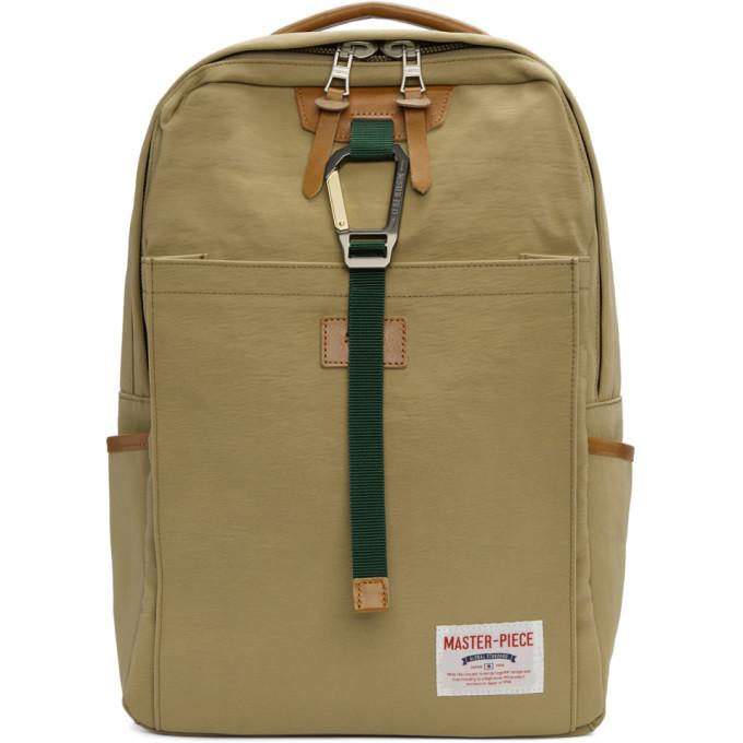 Image of Master-Piece Co Beige Link Backpack