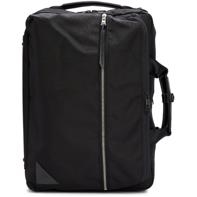 Image of Master-Piece Co Black Convertible 3 -Way Briefcase Backpack