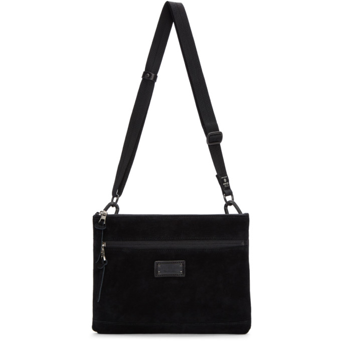 Image of Master-Piece Co Black Revise Waterproof Messenger Bag