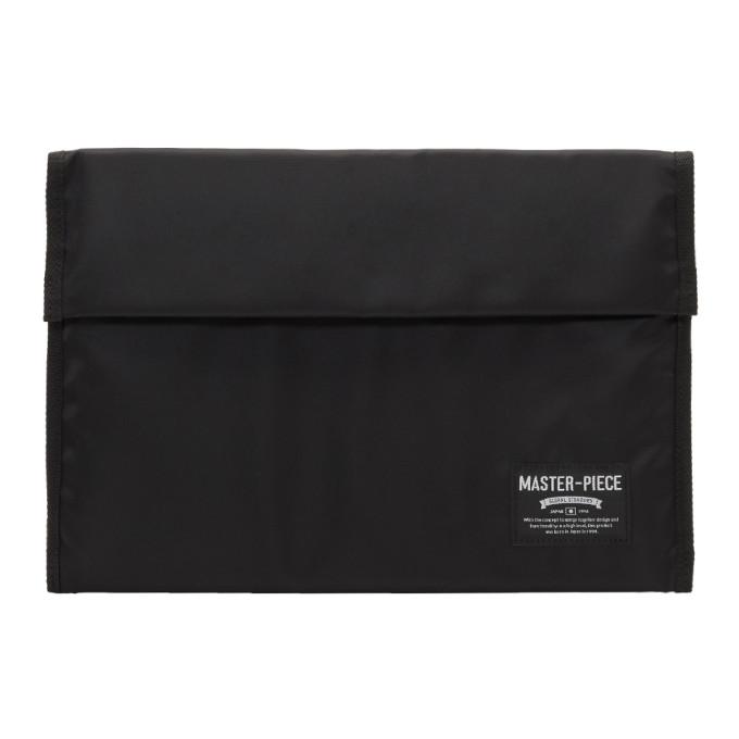 MASTER-PIECE CO Master-Piece Co Ssense Exclusive Black 13 Laptop Case