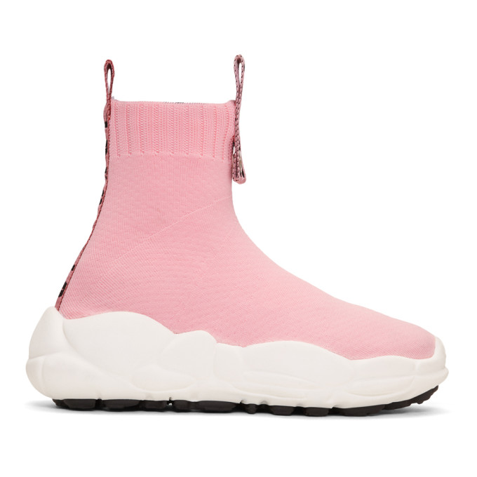 Versus Pink Ribbons Sock Sneakers