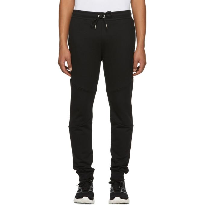Versus Black Side Tape Lounge Pants