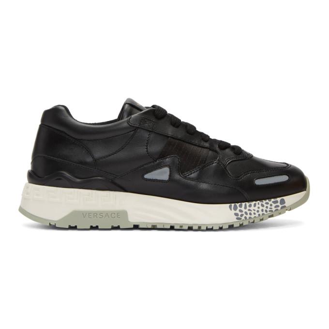 Versace Black Runner Sneakers