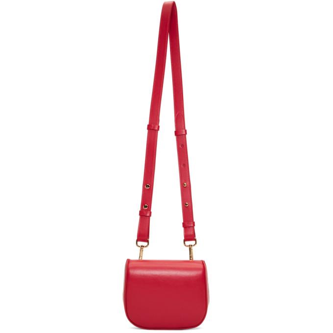 Simone Rocha Red Mini Box Belt Bag