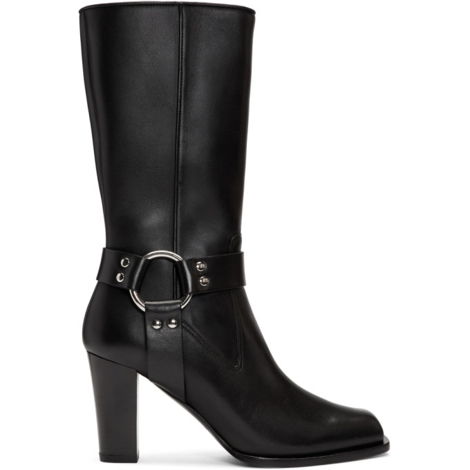 Altuzarra Black Lucy Mid-Calf Boots