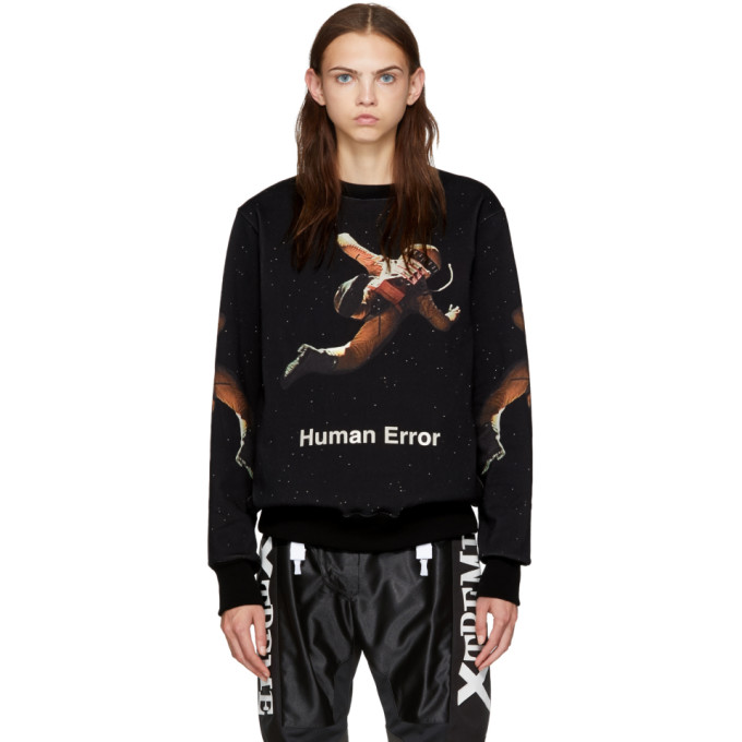 Undercover UNDERCOVER BLACK 2001: A SPACE ODYSSEY SWEATSHIRT