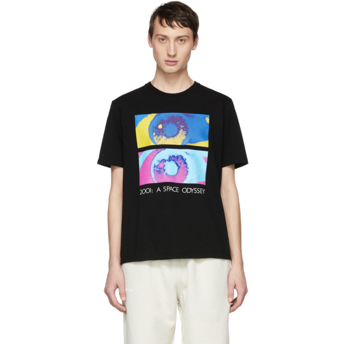 UNDERCOVER Printed Cotton-Jersey T-Shirt - Black