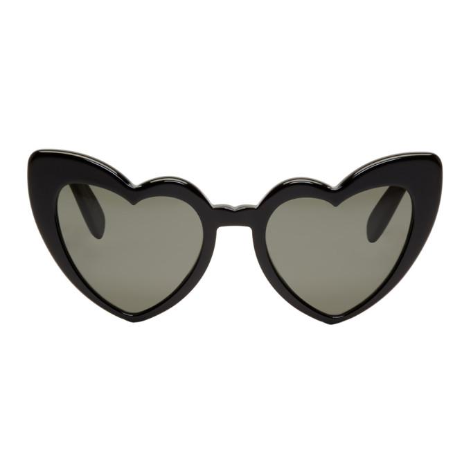 Saint Laurent Black SL 181 Lou Lou Sunglasses