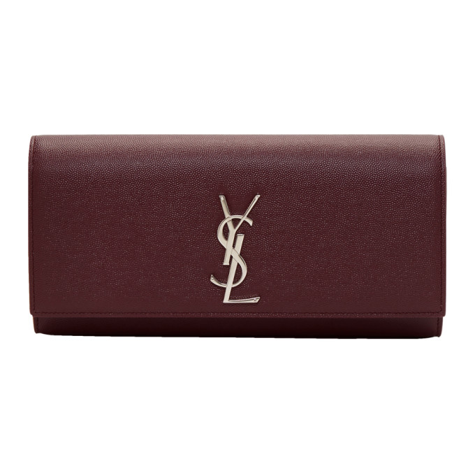 Saint Laurent Red Kate Clutch