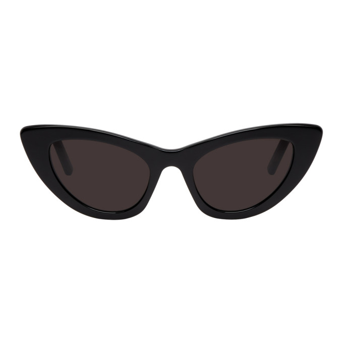 Saint Laurent Black Lily Sunglasses