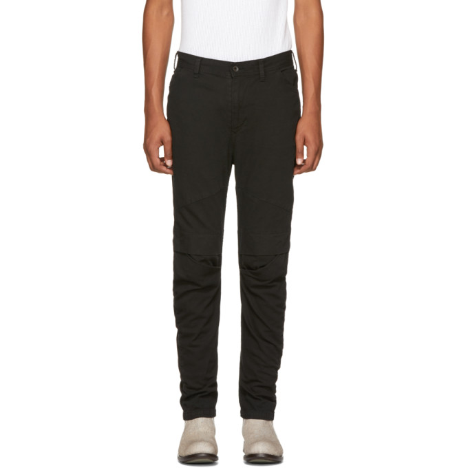 Julius Black Arched Rider Jeans