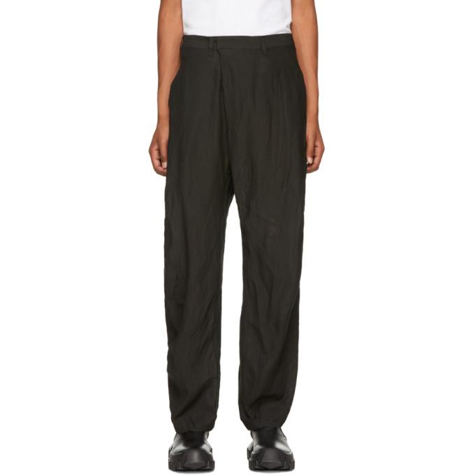 Image of Julius Black Folding Baggy Trousers