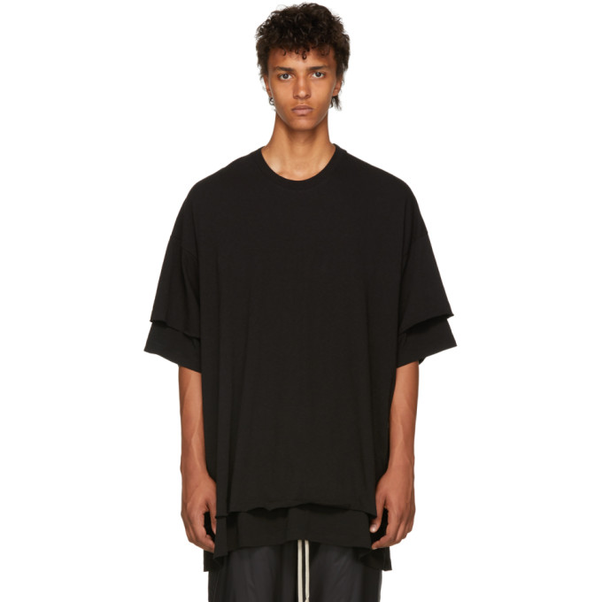 Image of Julius Black Double Layered T-Shirt