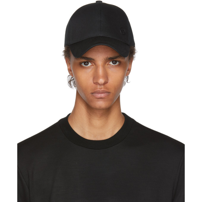 Image of PS by Paul Smith Black Basic Baseball Cap
