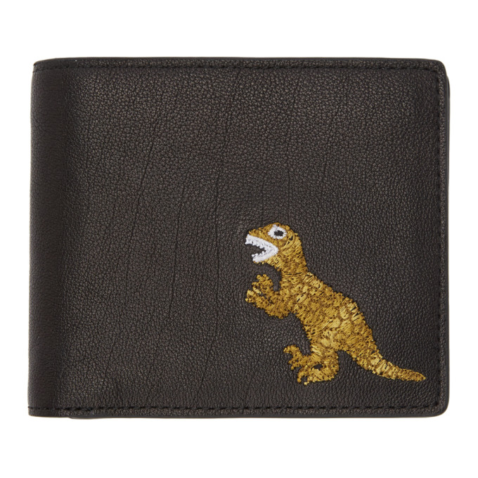 Ps By Paul Smith Black Dino Wallet