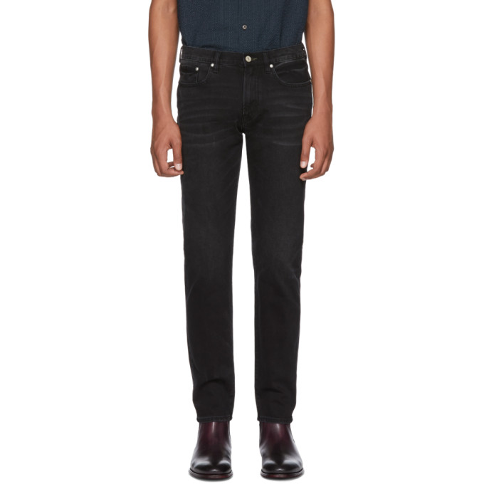 Ps By Paul Smith Black Tapered Jeans