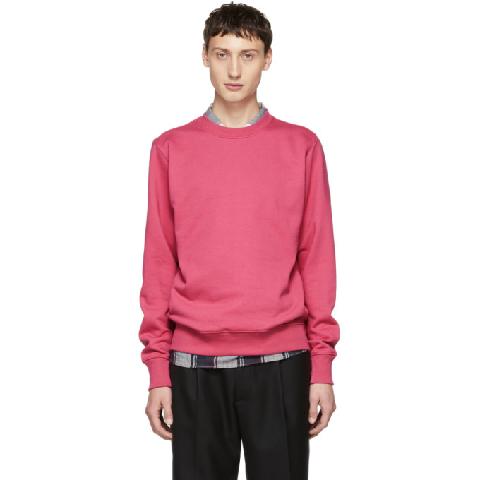 Ps By Paul Smith Pink Organic Crewneck Sweatshirt