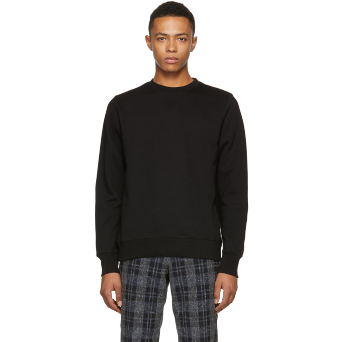 Ps By Paul Smith Black Regular Fit Sweatshirt
