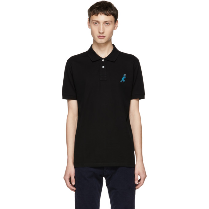 Ps By Paul Smith Black Dino Polo