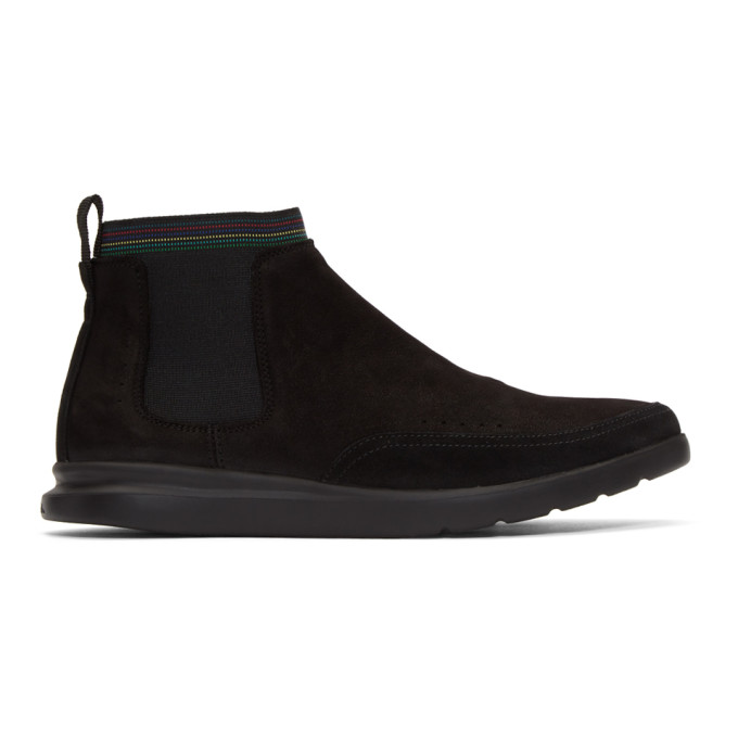 Image of PS by Paul Smith Black Acosta Sneakers