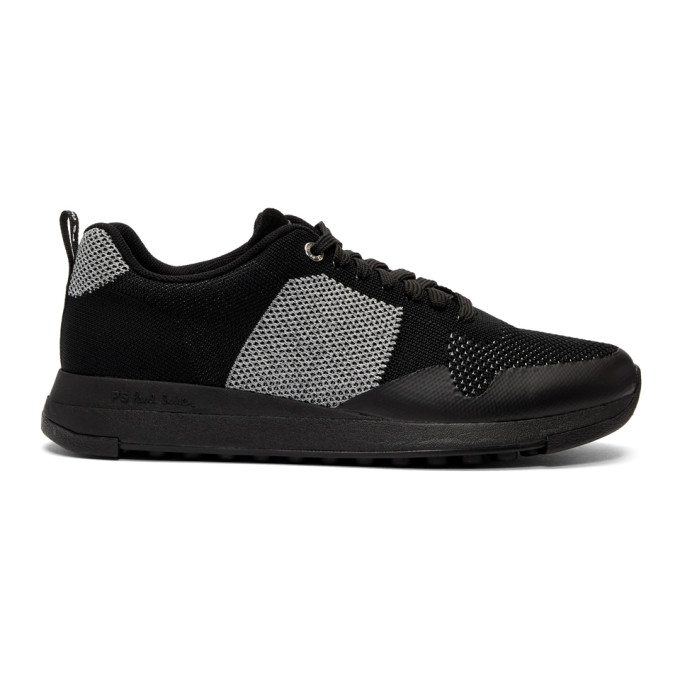 Ps By Paul Smith Black Rappid Ms2 Sneakers