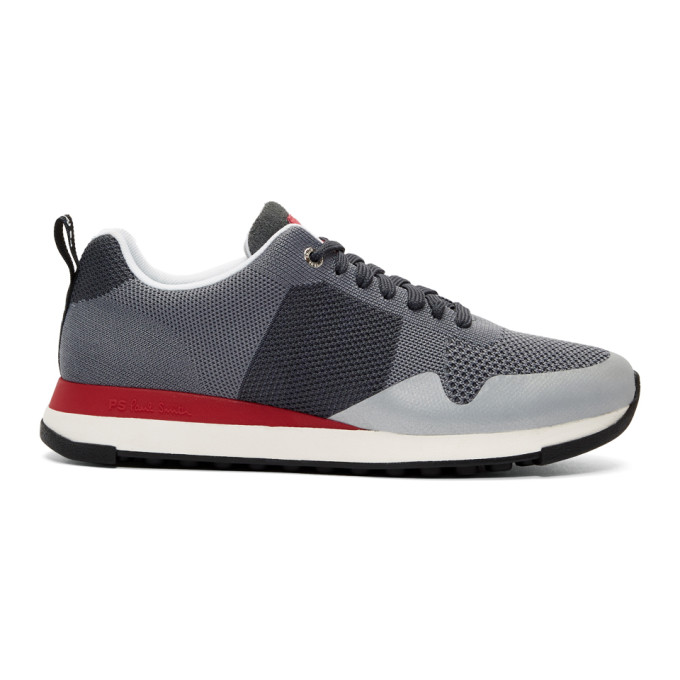 Ps By Paul Smith Grey Rappid Ms2 Sneakers
