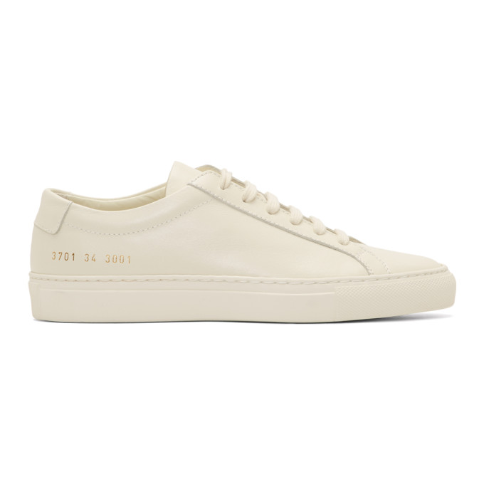 Woman by Common Projects White Original Achillies Low Sneakers