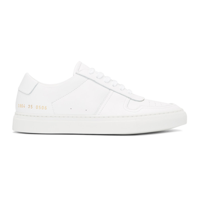 Woman by Common Projects White BBall Low Sneakers