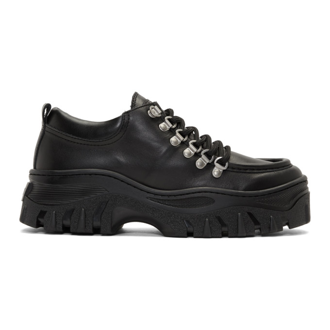 MSGM Black Chunky Double Sole Sneakers