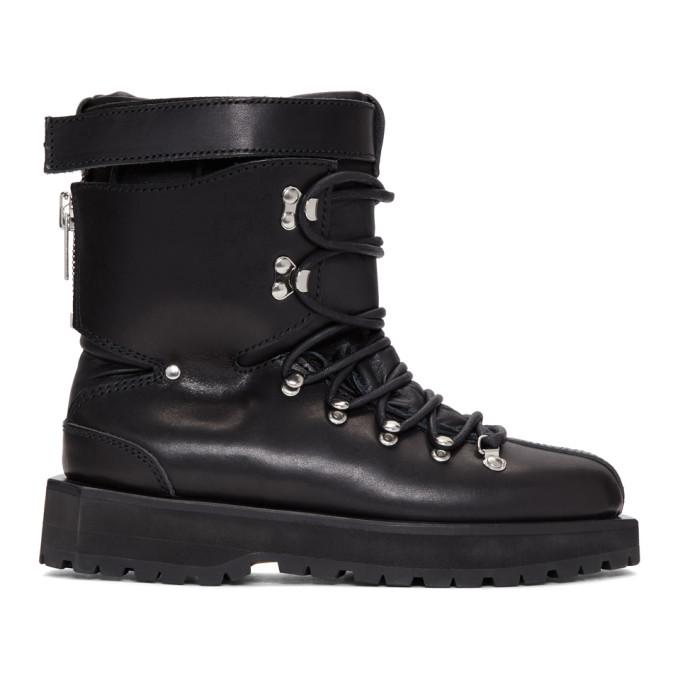 Sacai Black Ski Boots